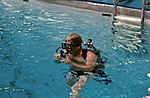 Preparations for Underwater EVA training for the STS 41-G crew 3.jpg