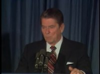File:President Reagan's First Press Conference the day after his Election Victory on November 7, 1984.webm