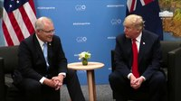 File:President Trump Participates in a Meeting with the Prime Minister of Australia.webm