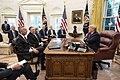 President Trump Visits with the Secretary General of the North Atlantic Treaty Organization (NATO) (49069329801).jpg