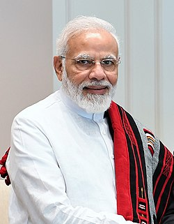 Prime Minister, Shri Narendra Modi, in New Delhi on August 08, 2019 (cropped).jpg