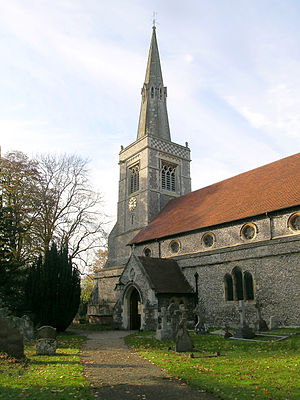 Princes Risborough - The church from the south-east
