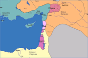 Principality of Antioch under Byzantine protection