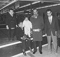 Prins Addulah Ben Mohammed al Saoed op Schiphol. Poseert met zijn gezin. Zoons p, Bestanddeelnr 913-1631.jpg