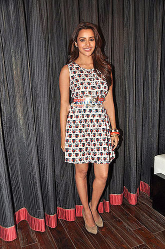Priya Anand - Priya Anand at Kootathil Oruthan movie preview.