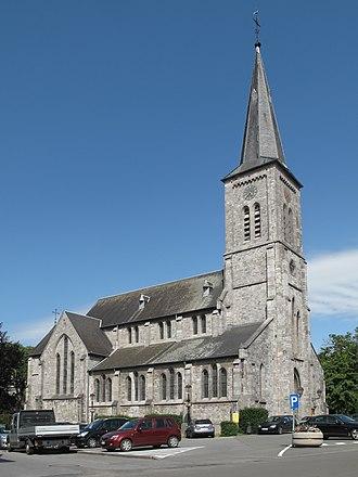 Profondeville - Image: Profondeville, église Saint Remy foto 10 2012 06 30 16.36