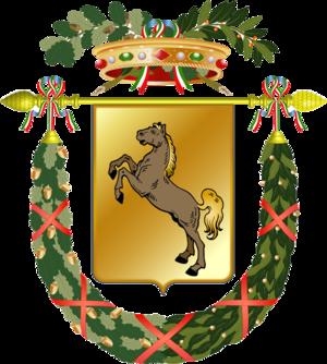 Coat of arms of Provincia di Napoli, Italy