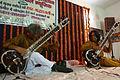 Pt. Shivnath and Deobrat Mishra performance.JPG