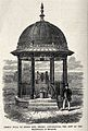 Public well at Stoke Row, Oxfordshire. Wood engraving. Wellcome V0020127.jpg