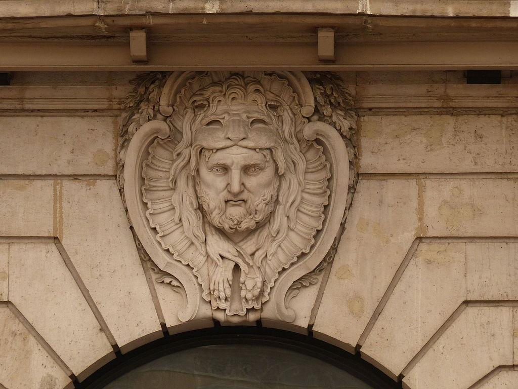 File Puerta Del Sol Una Cara Sobre El Arco Del Vano
