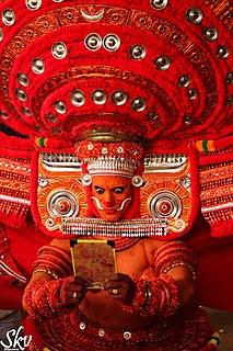 Theyyam Folk art from Kerala