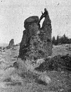 Wascopam Mission - Pulpit Rock