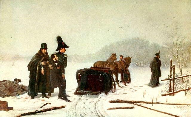 Дуэль Пушкина с Дантесом. А.А.Наумов, 1884