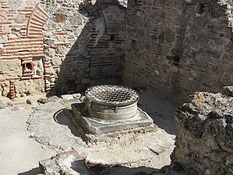 Ancient Pydna - Pydna, the well