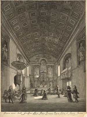 Queen's Chapel - Image: Queen's Chapel Jan Kip 1688