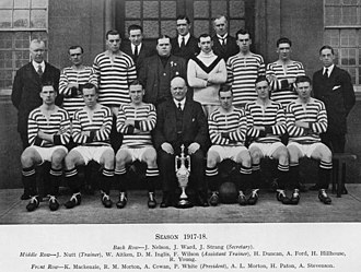 Queen's Park F.C. - The 1917–18 team