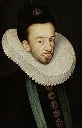 François Quesnel: Portrait of Henri Valois