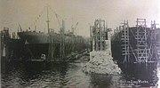 Quinnipiac launch at Groton Iron Works, 1 November 1919