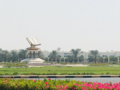 Quran Roundabout Monument.png