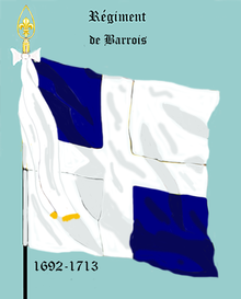 Image illustrative de l'article Régiment de Barrois (1692)