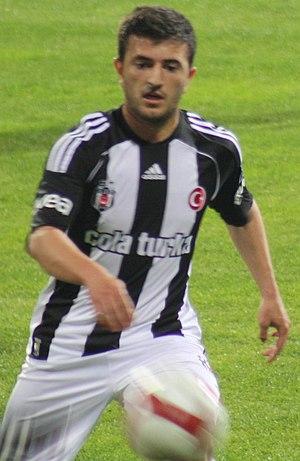Rıdvan Şimşek - Şimşek playing for Beşiktaş.