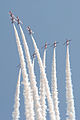 RAF Red Arrows, Waddington Airshow 2013.jpg