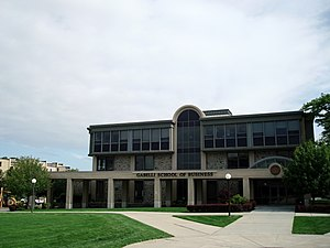 Roger Williams University - Image: RWU Gabelli School of Business