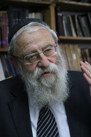 Chief Rabbi of Jerusalem - Rabbi Aryeh Stern