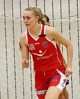 Ragna Margrét Brynjarsdóttir Icelandic basketball player