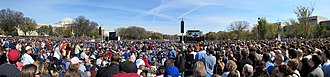 Rally to Restore Sanity and/or Fear - Image: Rally to Restore Sanity and or Fear 2010 10 30 Panora of Crowd