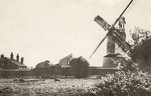 Ramsey Windmill, Essex - Image: Ramsey 1920