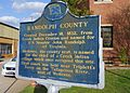 Randolph County Alabama Historic Marker.JPG