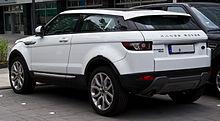 Range Rover Evoque Coupé SD4 4WD Prestige – Heckansicht, 15. Juni 2014, Düsseldorf.jpg