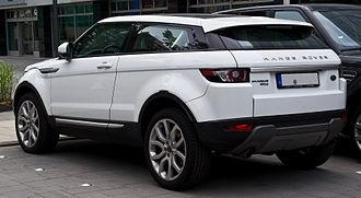 Range Rover Evoque - Three-door