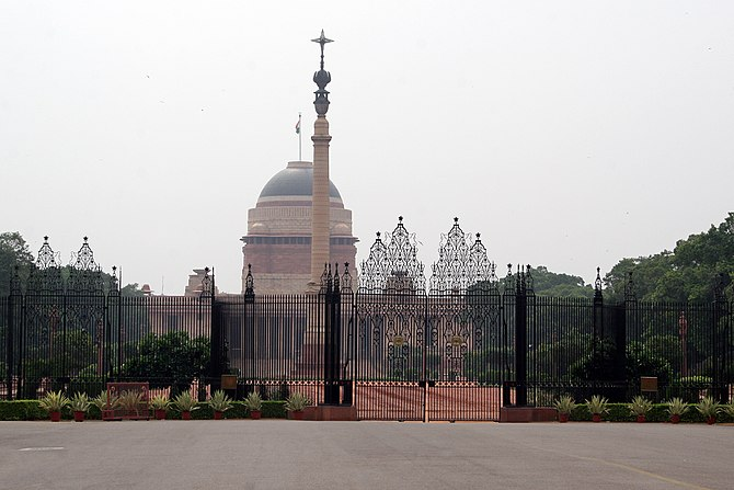 670px Rashtrapati Bhavan 1 Unidentified Foreigner Spotted Using Drone Near Parliament