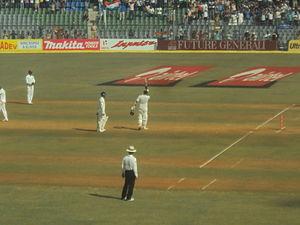 Ravichandran Ashwin - Ashwin after scoring his maiden century against West Indies at Wankhede stadium, Mumbai