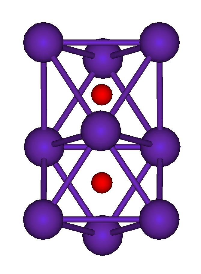Rb9O2 cluster