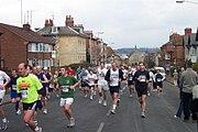 Reading Half Marathon in 2004