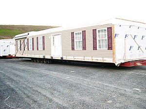 Pleasant Valley Modular home finished and read...