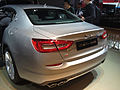 Rear view of Maserati Quattroporte VI NAIAS 2013 in Detroit.jpg