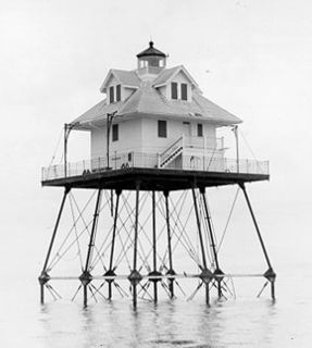 Rebecca Shoal Light lighthouse in Florida, United States