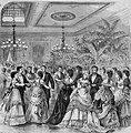 Reception for prince Arthur of Great Britain at Delmonico's, New York 1870.jpg