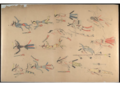 Red Horse pictographic account of the Battle of the Little Bighorn, 1881. 0000.png