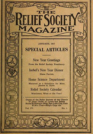Relief Society Magazine - Relief Society Magazine cover 1917