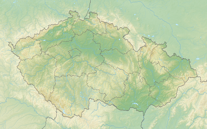 Karte Tschechien.Liste Von Kraftwerken In Tschechien Wikipedia