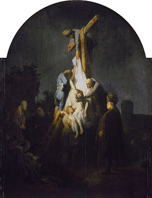 The Descent from the Cross (Rembrandt, 1633) - The Descent from the Cross