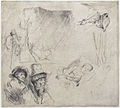 Rembrandt van Rijn - Sheet of Studies.jpg