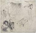 Rembrandt van Rijn - Sheet of Studies.jpg