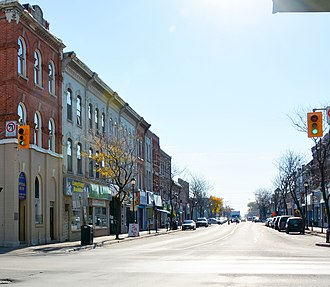 Whitby, Ontario - Brock Street in Whitby