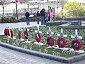 Remembrance Sunday - Hall of Memory - poppies and crosses (8175112721).jpg